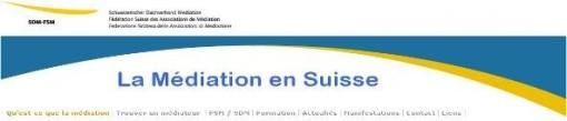 La Médiation Familiale en Suisse (site trilingue)